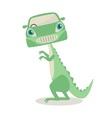 Dino mobile vector image