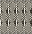 Abstract monochrome checkered pattern vector image