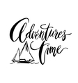 Adventures Time card vector image