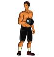 Sport-Man vector image vector image