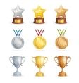 Sport Awards Set vector image vector image