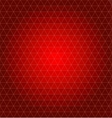 abstract geometrical background Christmas red vector image