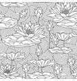 adult antistress coloring page vector image