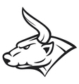 bull head vector image vector image