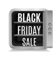Black friday vector image vector image