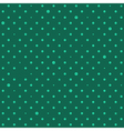 Green Star Polka Dots Background vector image