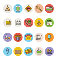 Hotel and Restaurant Icons 3 vector image