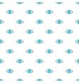 Eye pattern cartoon style vector image