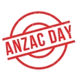 Anzac Day rubber stamp vector image