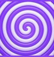 abstract purple candy spiral background vector image vector image