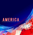stylish 4th of july design vector image