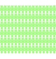 Peoples holding hands Seamless pattern vector image