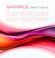 Colorful elegant abstract vector image