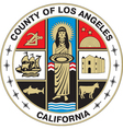 Los Angeles County Seal vector image