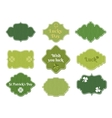 st patricks day labels vector image vector image