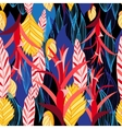 pattern of plants vector image