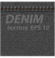 Denim fabric texture vector image