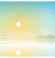 Simple Landscape vector image