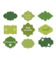 st patricks day labels vector image