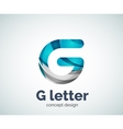G letter logo icon vector image
