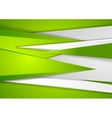 Abstract green tech corporate background vector image vector image