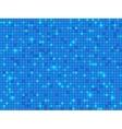 Blue pixel mosaic background vector image