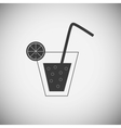 Drink wood application icons vector image