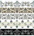 greec patterns vector image