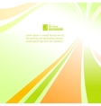 Colorful background with abstraction vector image vector image