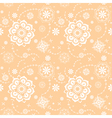 seamless floral decorative texture vector image