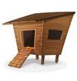 hen house vector image