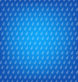 Blue Background With Drops vector image