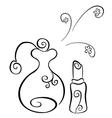 cosmetics symbol vector image vector image