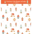Christmas holidays seamless pattern vector image