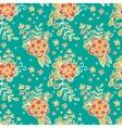 Floral seamless pattern Flower Garden vector image