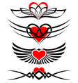 love tattoo set vector image