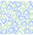 Seamless background with simple triangle vector image