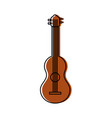 guitar instrument music acoustic harmony vector image