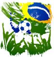 World cup brazil vector image