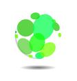 Circular Bubble Logo Icon Template vector image vector image
