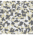 seamless background with camouflage vector image