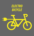 sport bicycle bike style icon vector image