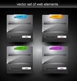 web login vector image
