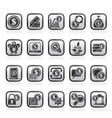 Business Money and Finance icons vector image vector image