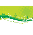 Environment Background vector image vector image