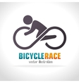 bicycle lifestyle design vector image
