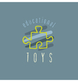 baby logo vector image