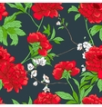 Floral pattern with flowers vector image