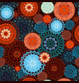 beautiful seamless texture with colorful ethnic vector image