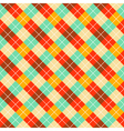 pattern with color rombuses vector image